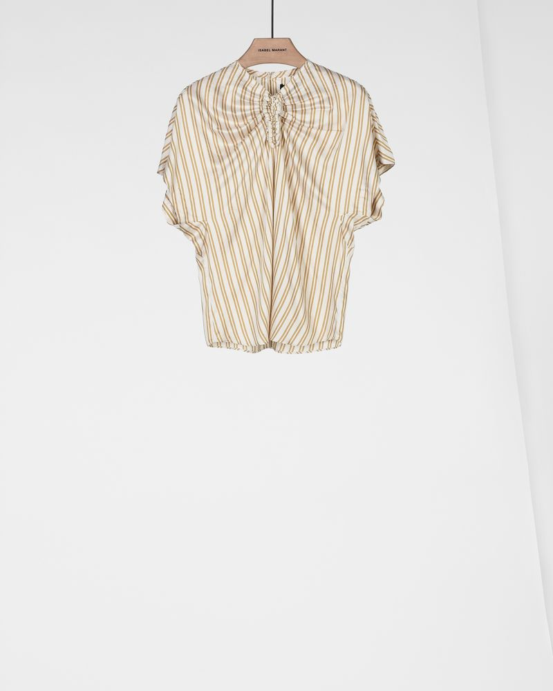 IAGA short sleeved striped top ISABEL MARANT