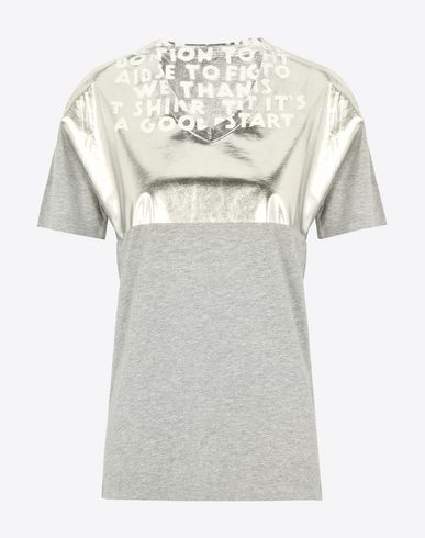 MAISON MARGIELA Short sleeve t-shirt Woman Charity AIDS T-shirt f