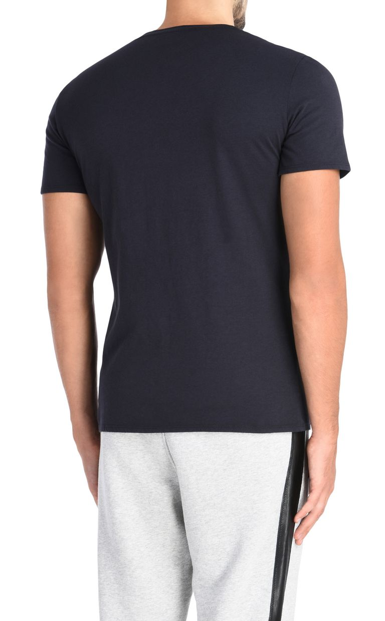 JUST CAVALLI T-shirt con cerniera applicata T-shirt maniche corte Uomo d