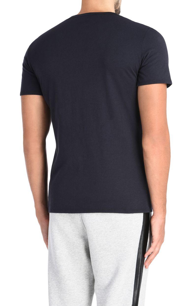 JUST CAVALLI T-shirt con cerniera applicata T-shirt maniche corte U d