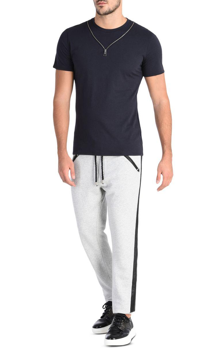 JUST CAVALLI With additional zipper Short sleeve t-shirt U r