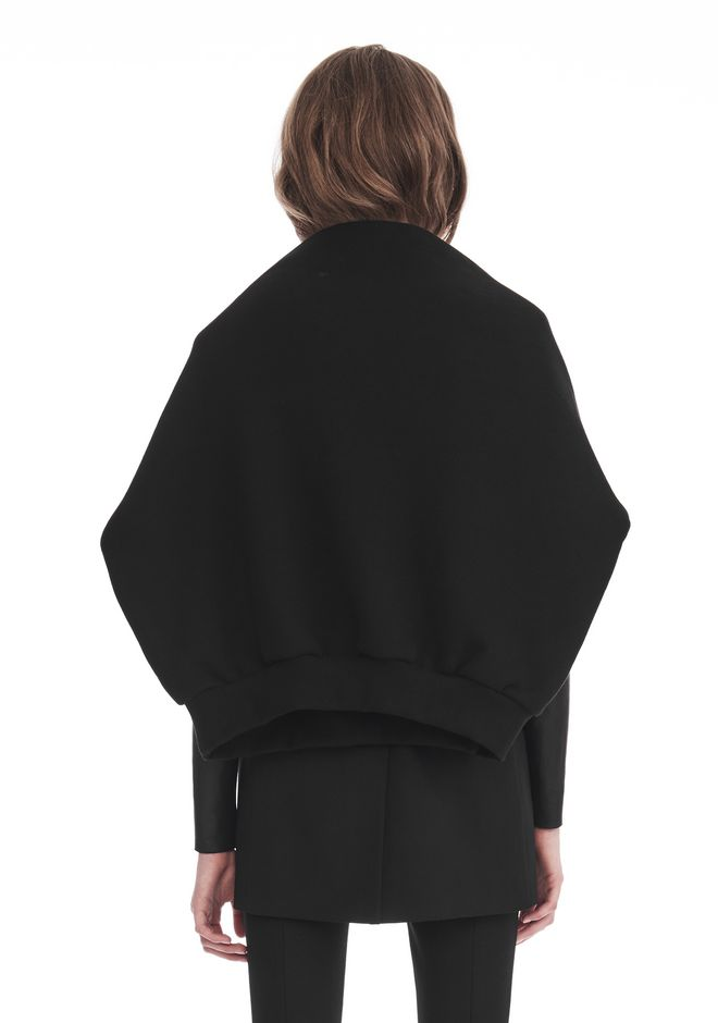 ALEXANDER WANG TOPS Women OVERSIZED SWEATSHIRT SHRUG