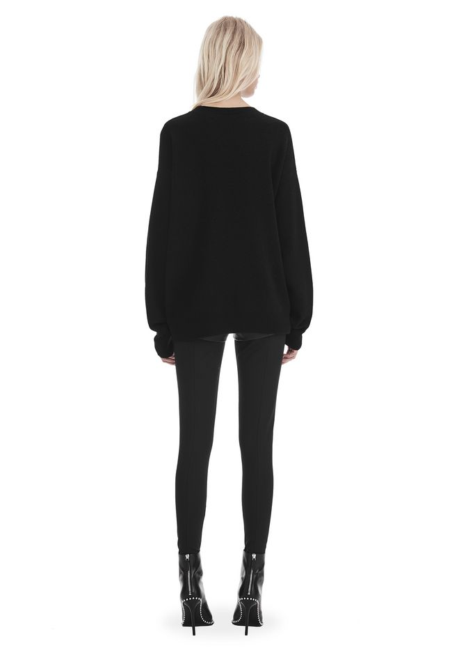 ALEXANDER WANG EXCLUSIVE 'PARTY ANIMAL' JACQUARD PULLOVER  上衣 Adult 12_n_r