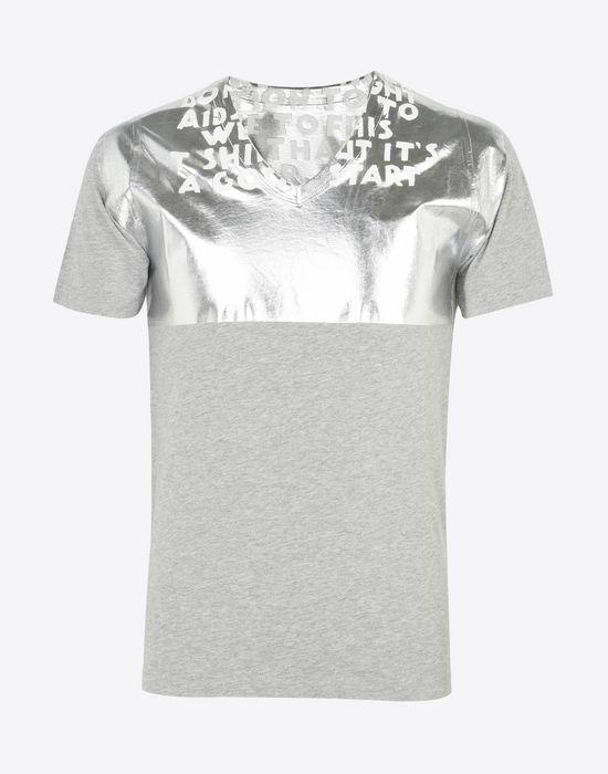 T-shirt Homme, Noir, Coton, 2017, L MMaison Martin Margiela