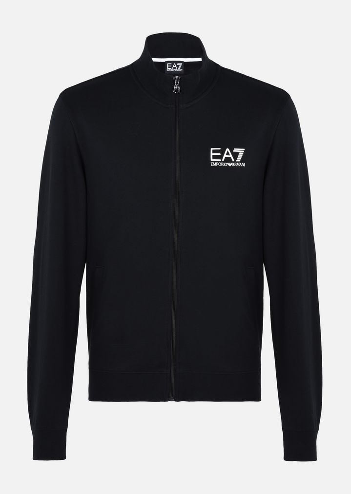 top-rated real big sale top brands Cotton track jacket | Man | Ea7