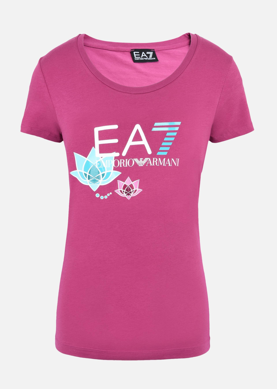 EMPORIO ARMANI Stretch cotton T-shirt T-Shirt D r