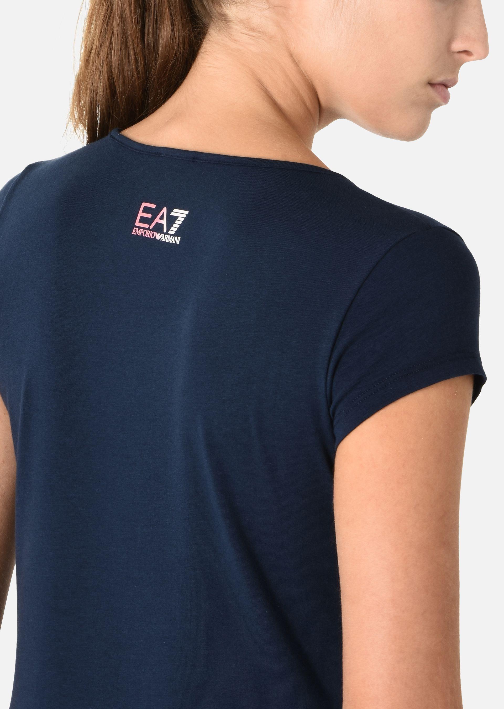 EMPORIO ARMANI Stretch cotton T-shirt T-Shirt D a