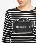 Rue Lagerfeld Long Sleeve Tee