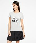 T-shirt Karl & Choupette in Paris