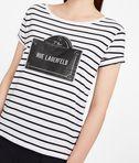 KARL LAGERFELD Rue Lagerfeld Striped Tee 8_e