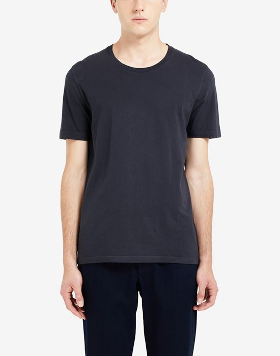 MAISON MARGIELA Cotton crewneck T-shirt Short sleeve t-shirt [*** pickupInStoreShippingNotGuaranteed_info ***] a