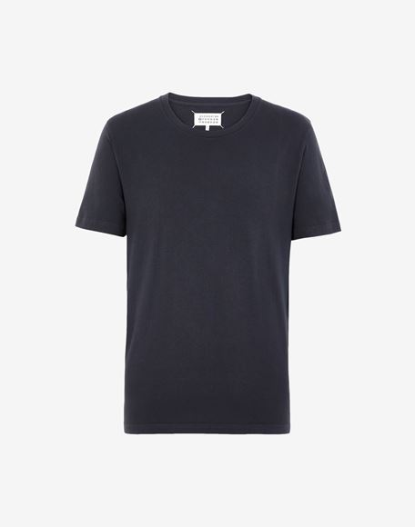 MAISON MARGIELA Cotton crewneck T-shirt Short sleeve t-shirt Man f