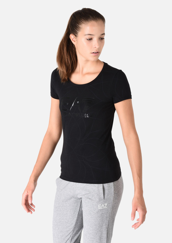 EMPORIO ARMANI Stretch cotton T-shirt T-Shirt D d