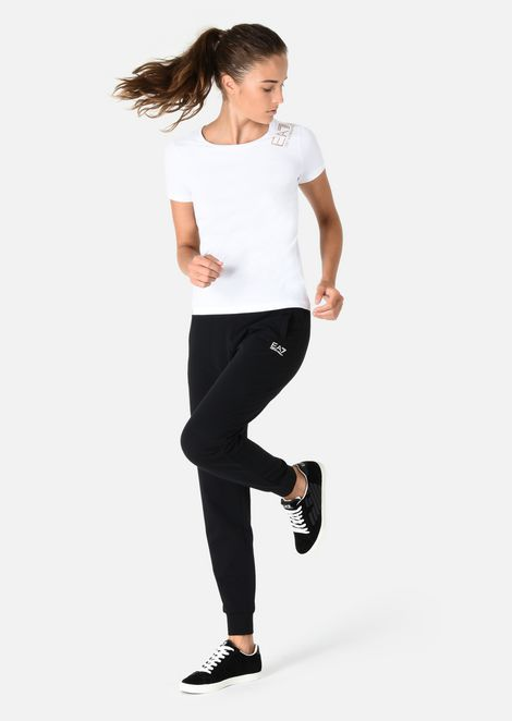 EMPORIO ARMANI T-shirt D T-SHIRT IN COTONE STRETCH f