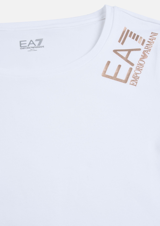 EMPORIO ARMANI Stretch cotton T-shirt T-Shirt D b