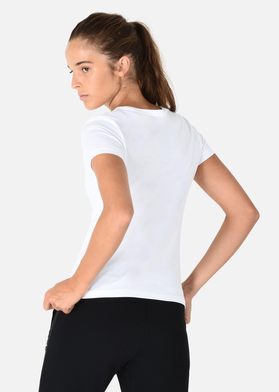 EMPORIO ARMANI Stretch cotton T-shirt T-Shirt D e