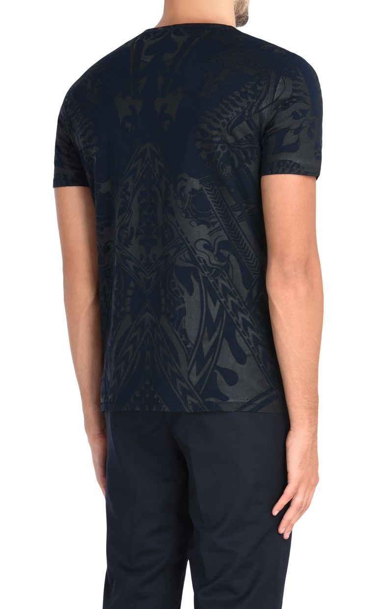 JUST CAVALLI T-shirt with an allover dragon print Short sleeve t-shirt [*** pickupInStoreShippingNotGuaranteed_info ***] d