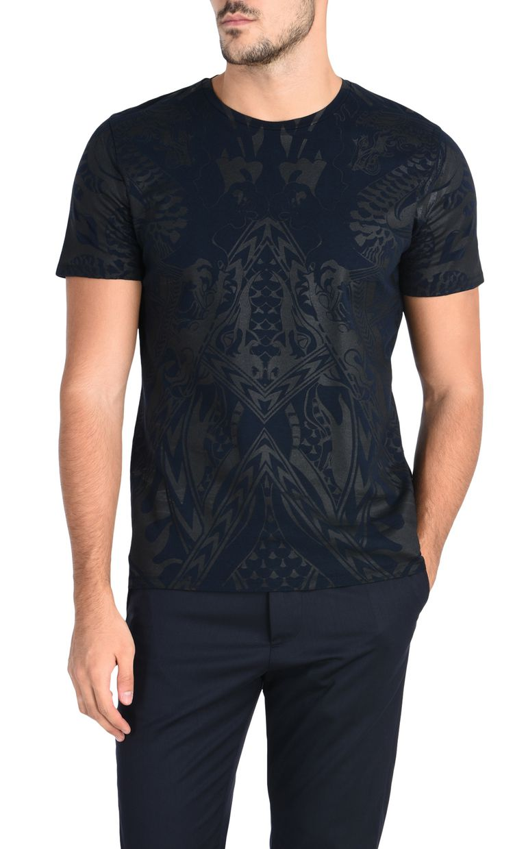 JUST CAVALLI T-shirt with an allover dragon print Short sleeve t-shirt [*** pickupInStoreShippingNotGuaranteed_info ***] f
