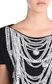 JUST CAVALLI Short-sleeved T-shirt with necklace print Short sleeve t-shirt Woman e