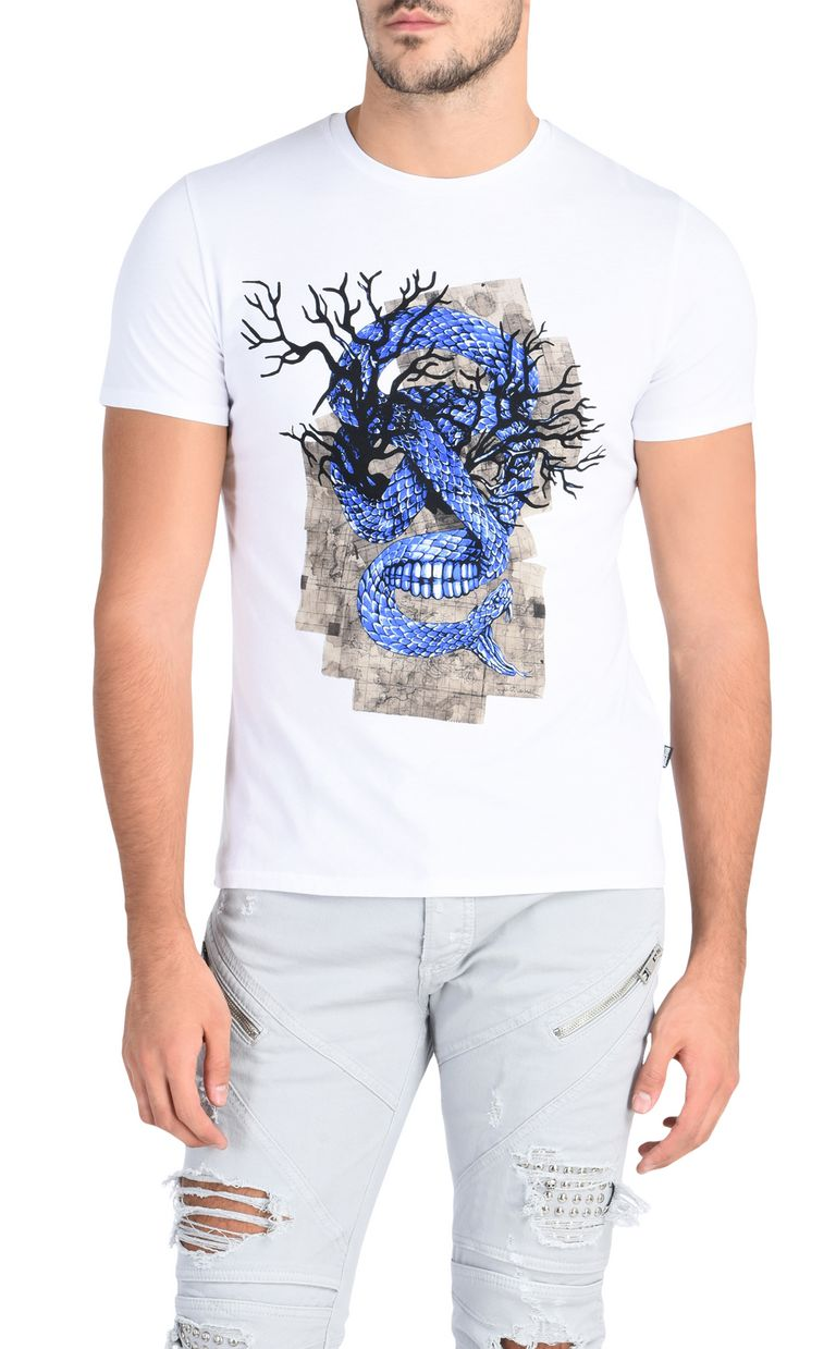 JUST CAVALLI Snake T-shirt Short sleeve t-shirt Man f