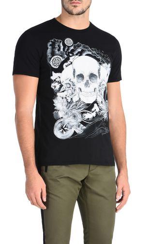 JUST CAVALLI T-shirt maniche corte Uomo T-shirt manica corta leopardo f