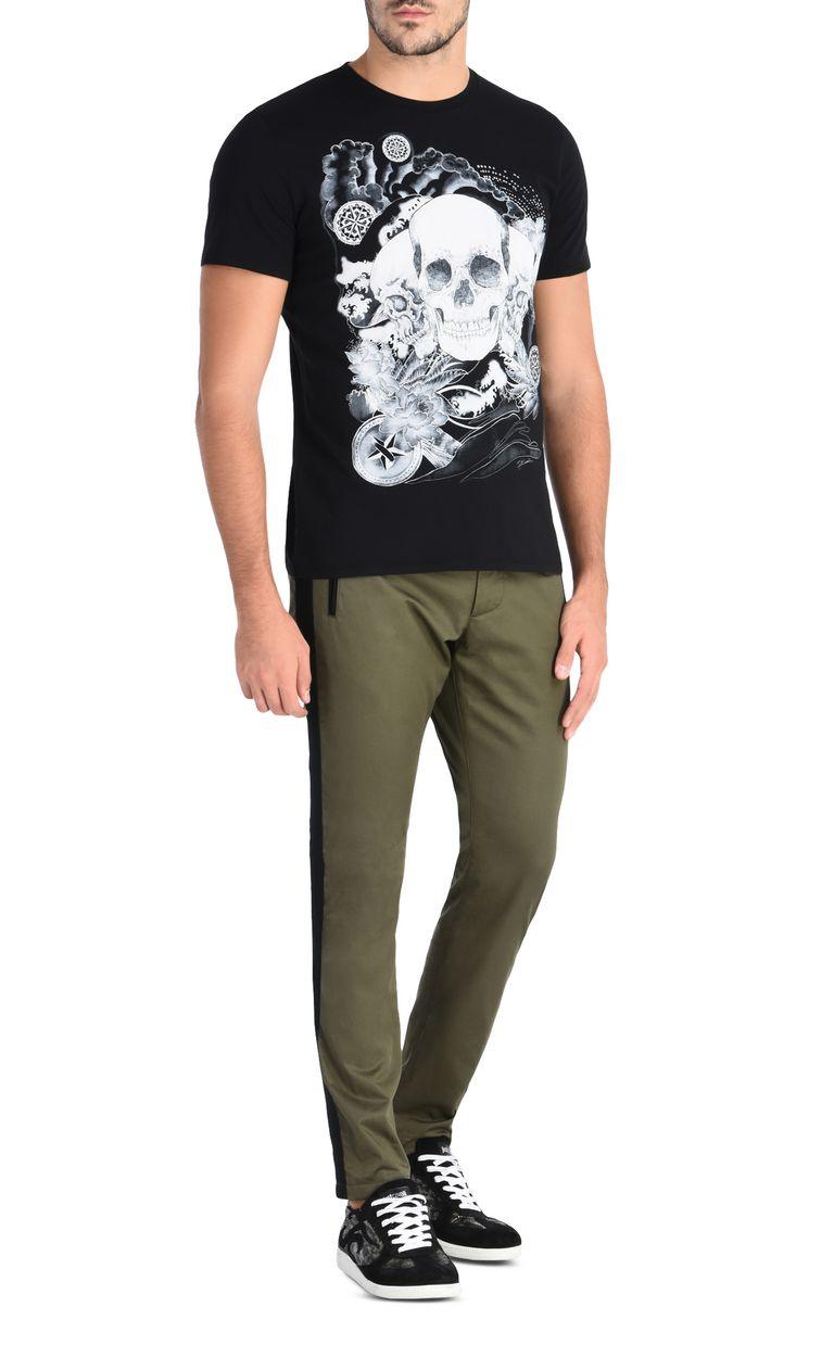 JUST CAVALLI T-shirt teschio T-shirt maniche corte Uomo r