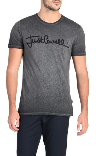 JUST CAVALLI Short sleeve shirt U Short-sleeved Botanica shirt f