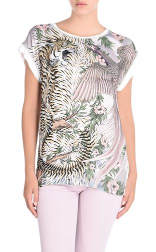 JUST CAVALLI T-shirt maniche corte Donna T-shirt manica corta New World f