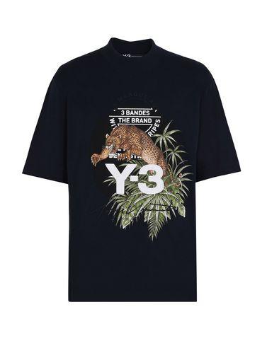 Y-3 LEOPARD TEE トップス メンズ Y-3 adidas