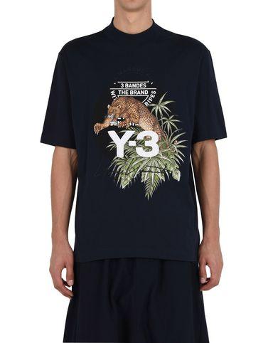 Y-3 LEOPARD TEE TEES & POLOS man Y-3 adidas