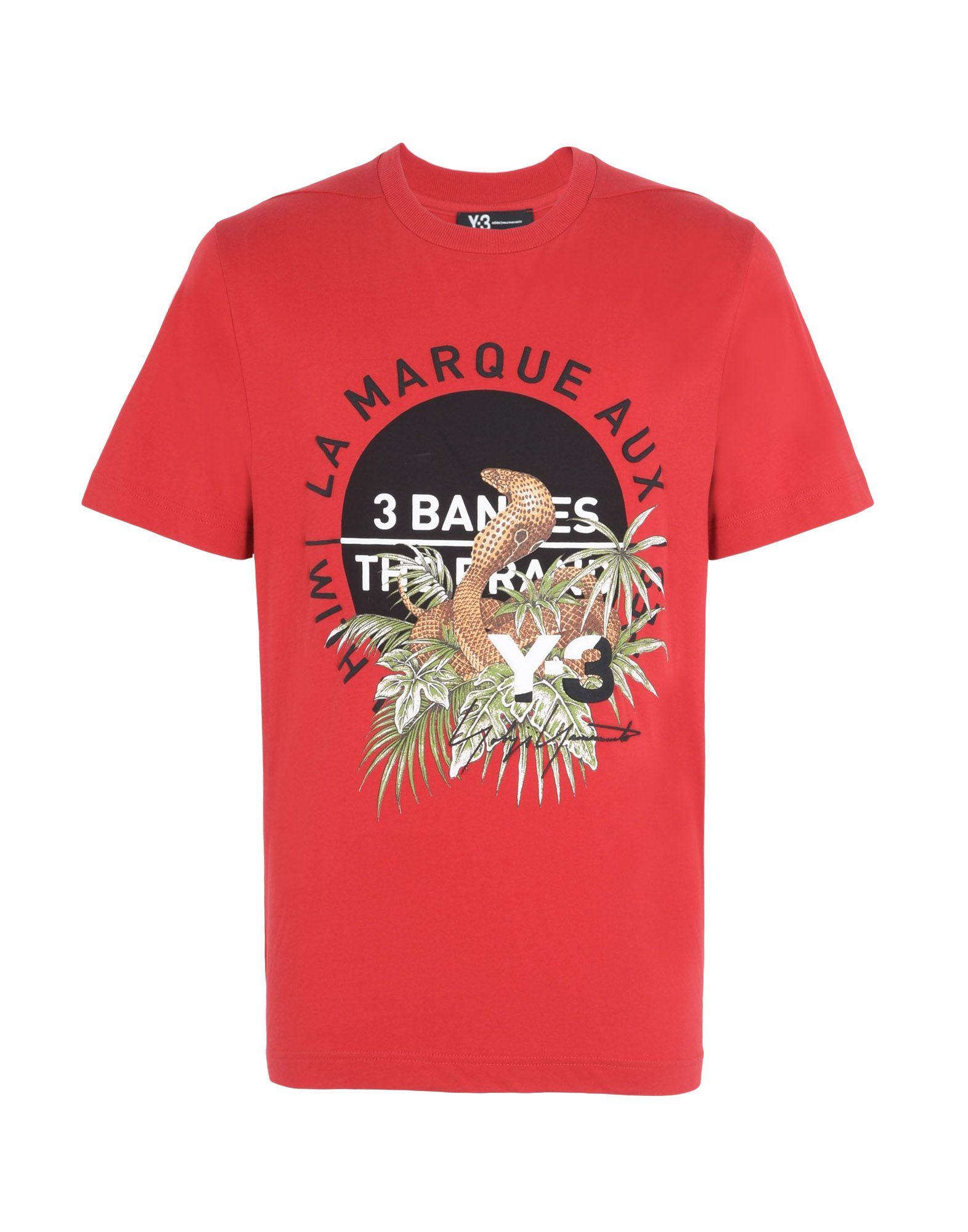 adidas t-shirt rossa