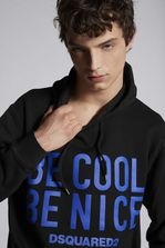 DSQUARED2 Be Cool Be Nice Hooded Sweatshirt 运动服 男士