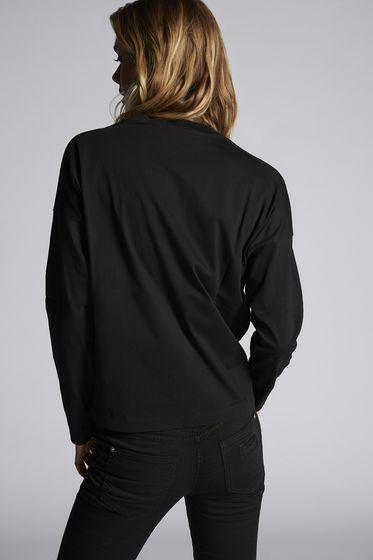 DSQUARED2 Short sleeve t-shirt Woman S75GC0872S22427313 b