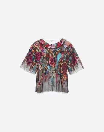 VALENTINO クチュールTシャツ D Tシャツ ムーンラバー f