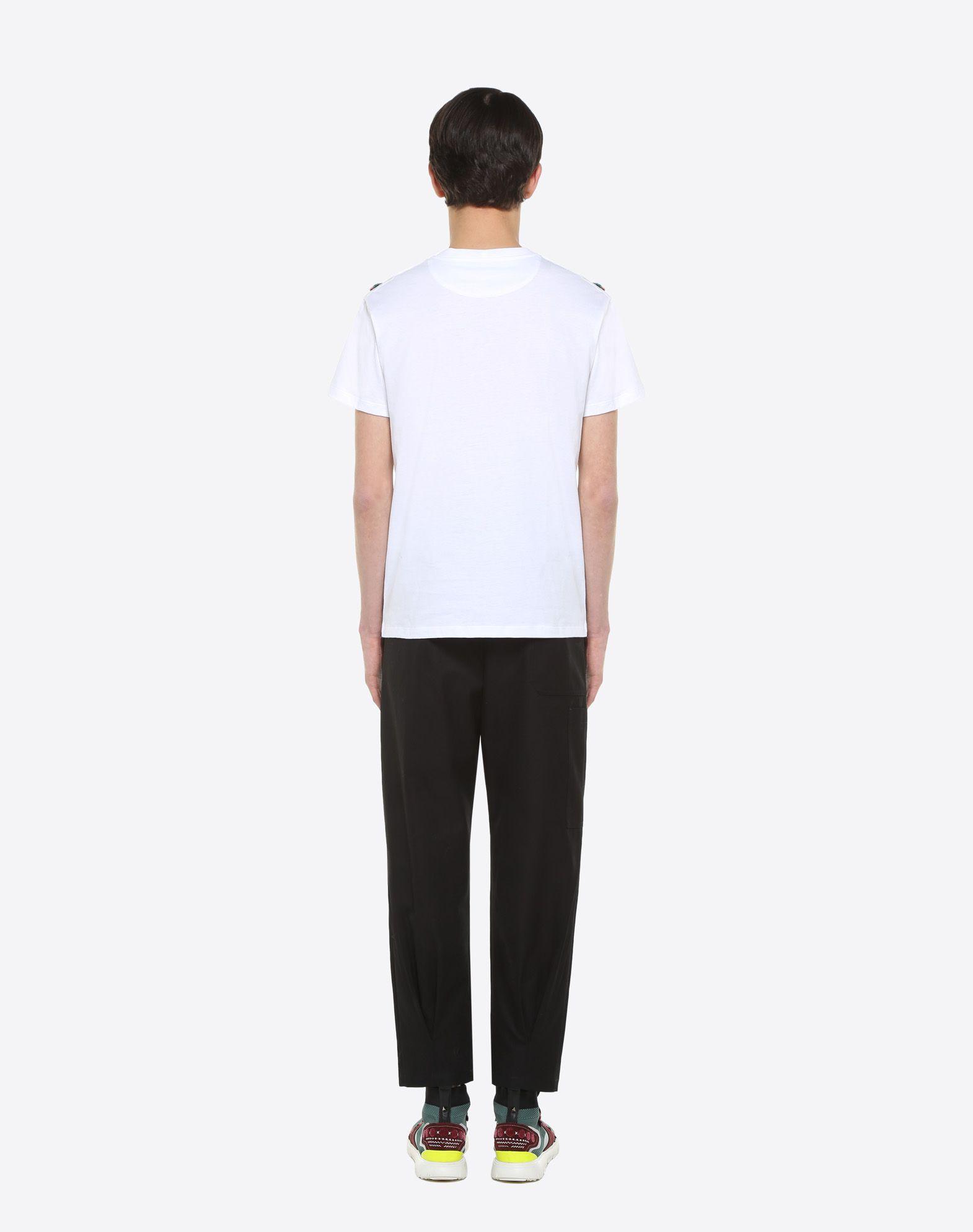 VALENTINO T-shirt with geometric embroidery T-shirt U e