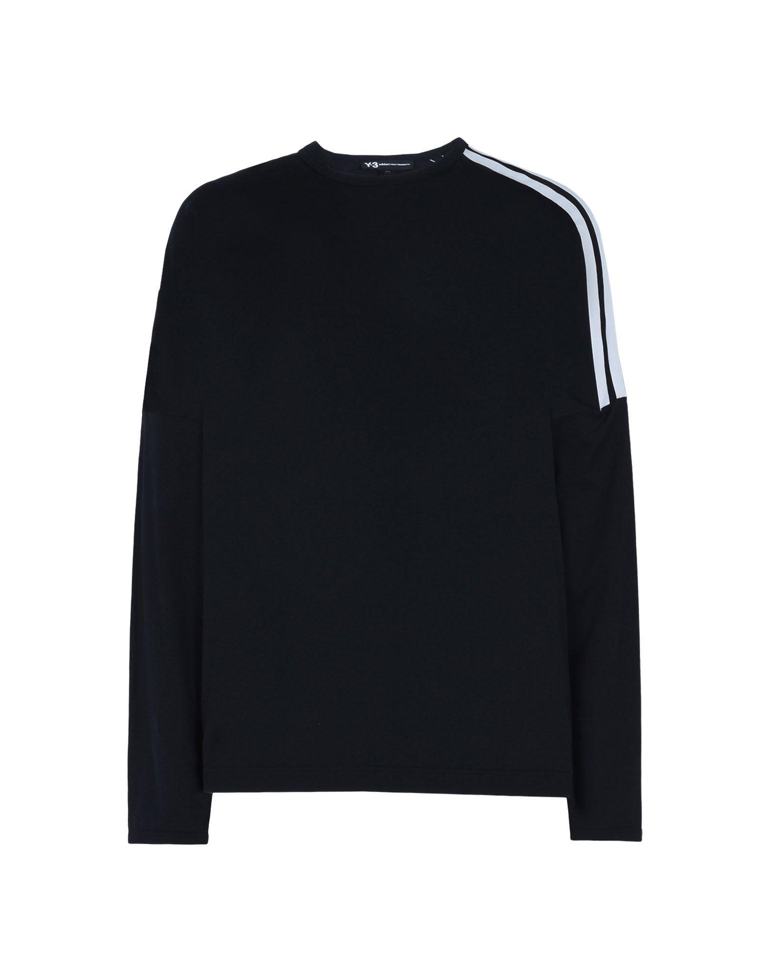 b673b9c1 Y 3 3 STRIPES TEE Long Sleeve t Shirts | Adidas Y-3 Official Site