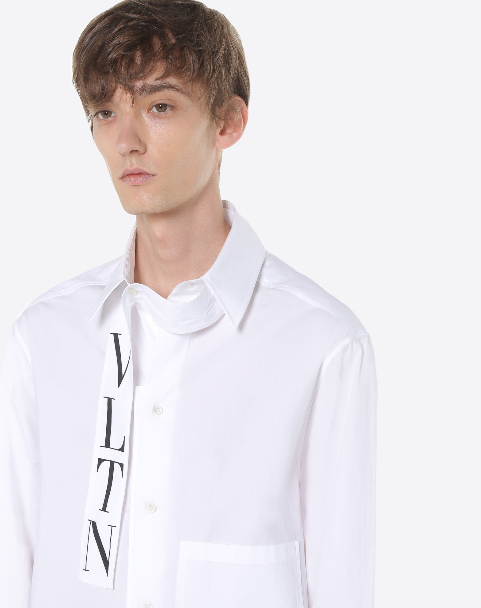VALENTINO VLTN shirt with tie collar Shirt U a