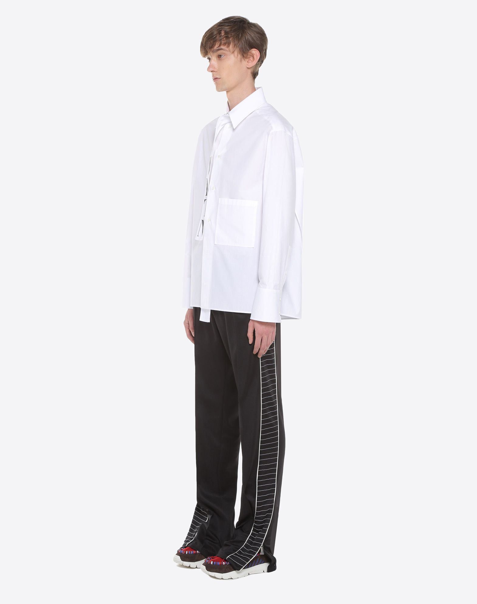 VALENTINO VLTN shirt with tie collar Shirt U d
