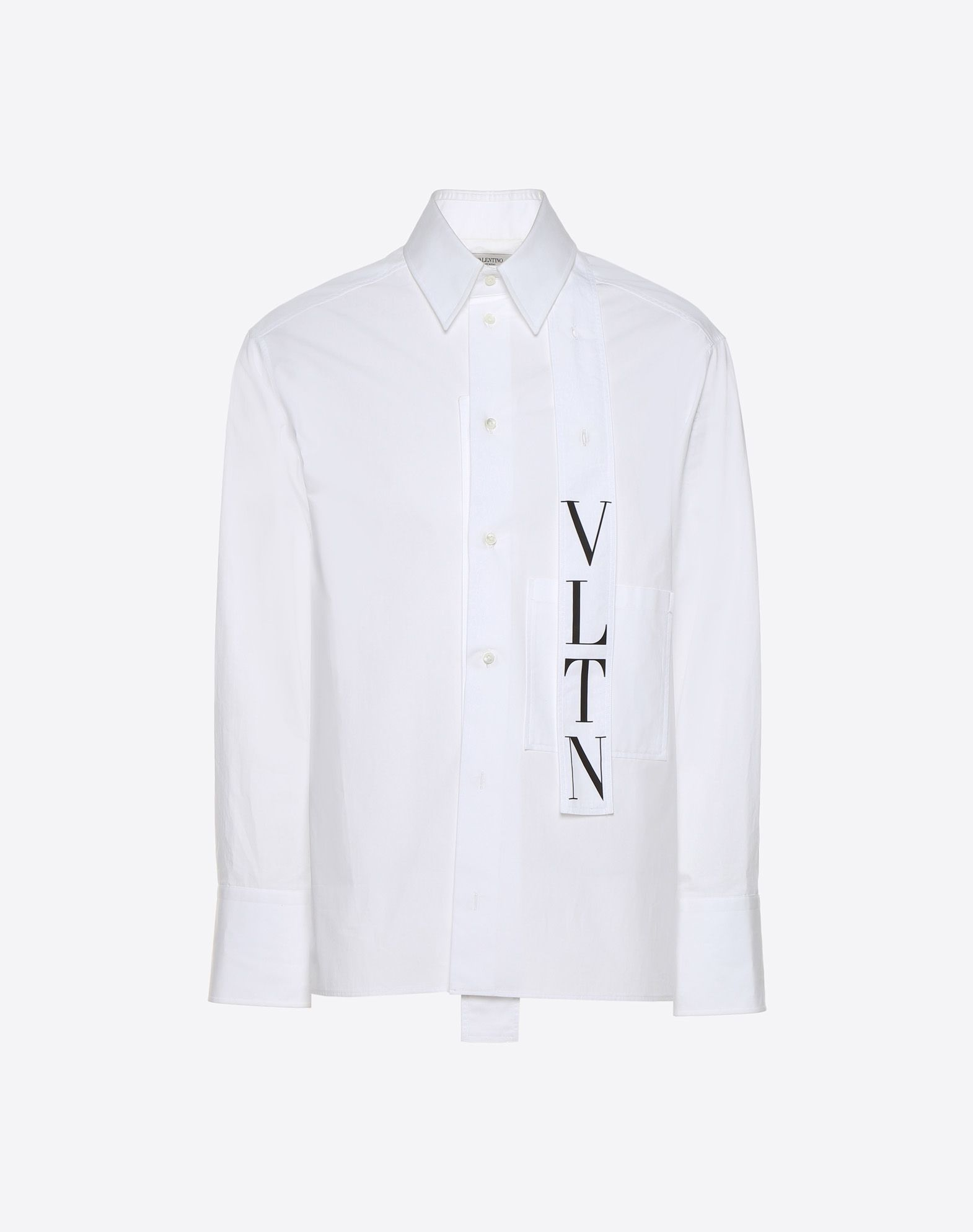 VALENTINO VLTN shirt with tie collar Shirt U f