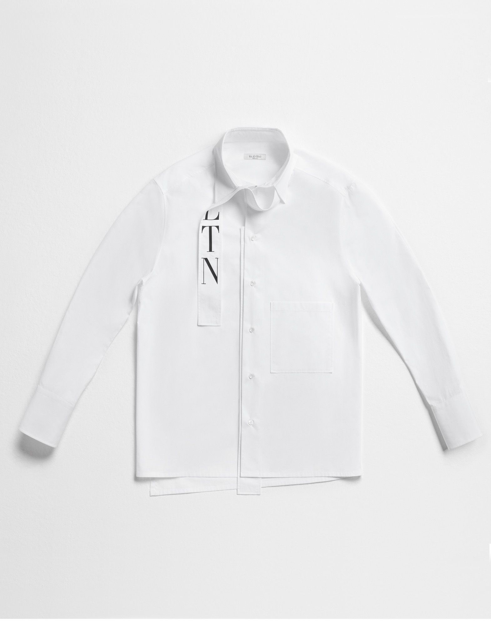VALENTINO VLTN shirt with tie collar Shirt U l