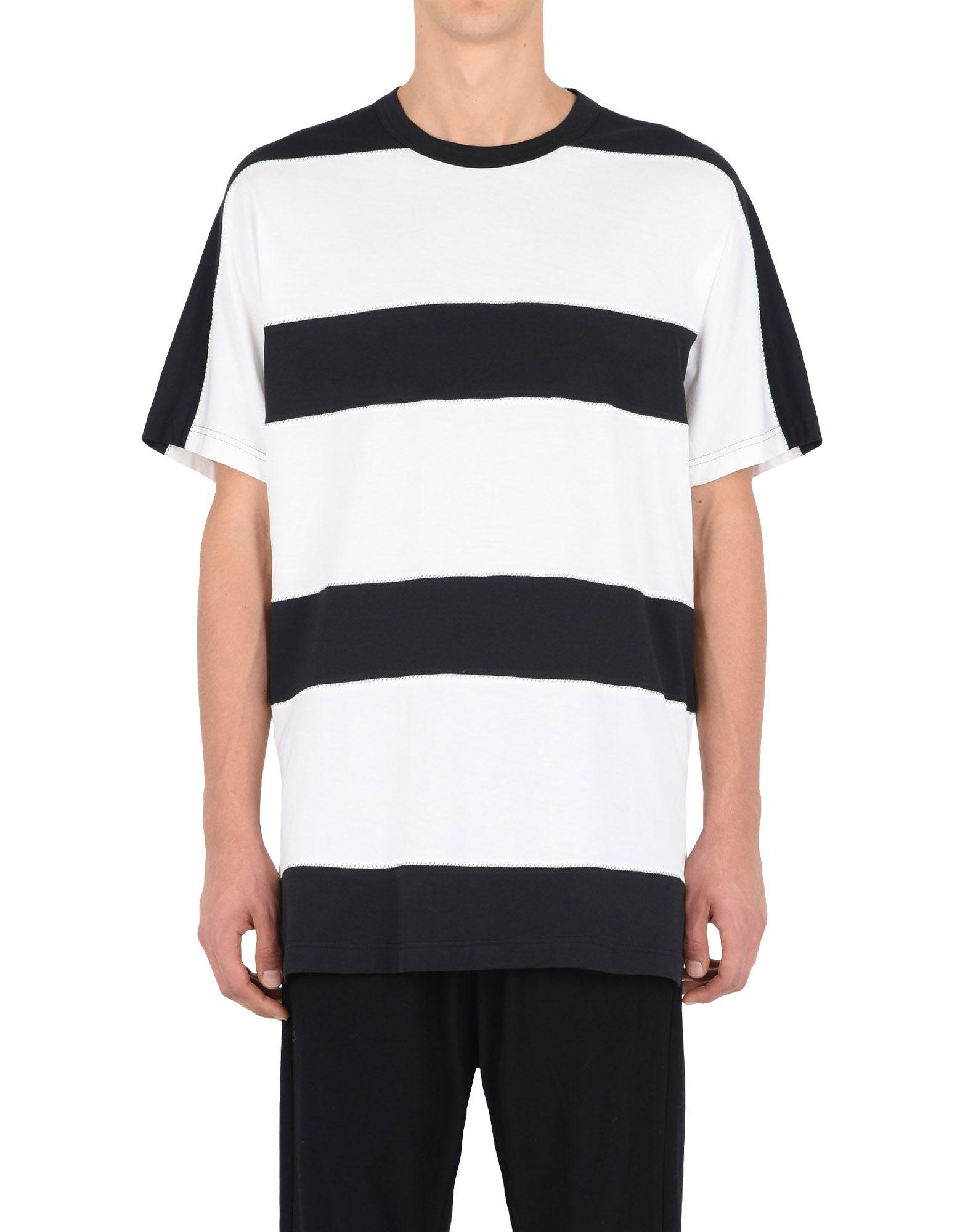 21e0b86c0 ... f; Y-3 Y-3 BOLD STRIPE TEE Short sleeve t-shirt Man r ...