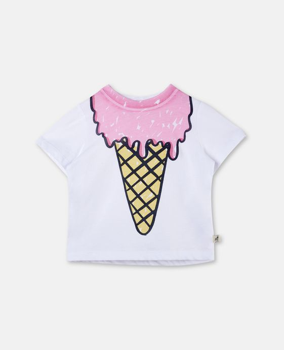 Chuckle Ice Cream Print T-shirt