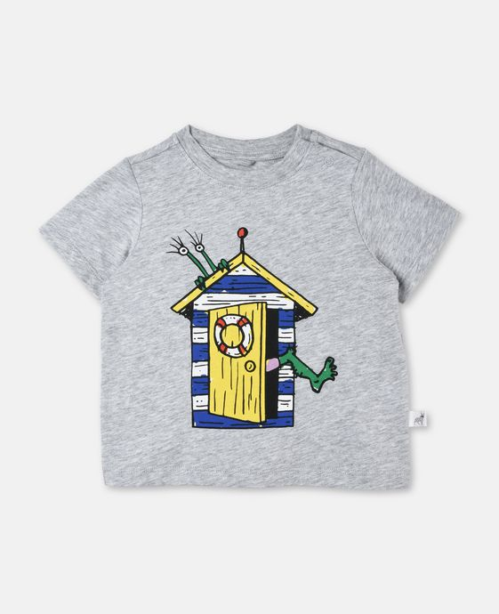 T-shirt Chuckle avec imprimé cabine