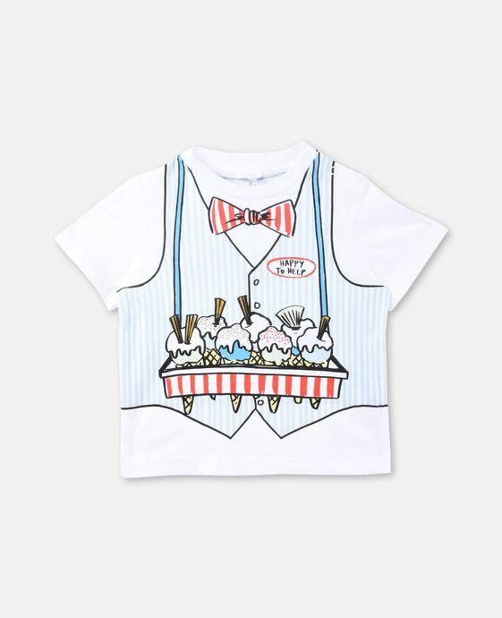 Chuckle Ice Cream Print T-shirt