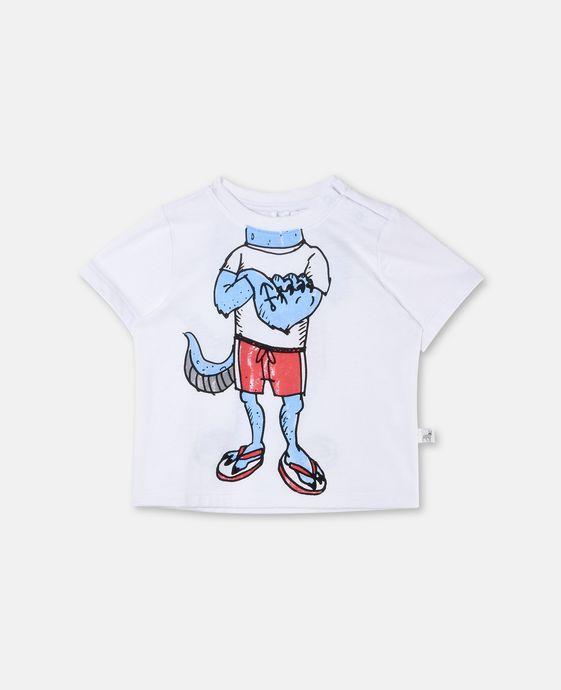 チャックルビジタープリントTシャツ