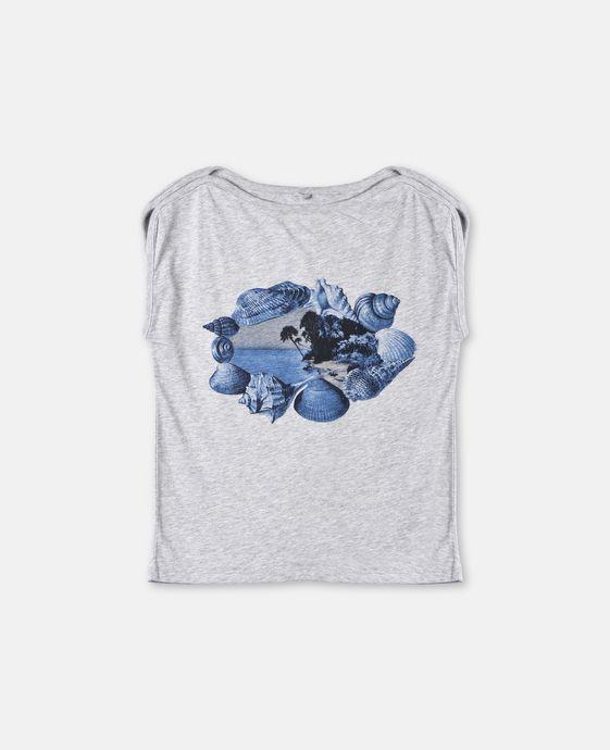 Delta Shells Print T-shirt