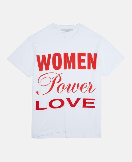 STELLA McCARTNEY T-shirt powered by women T-Shirts D c