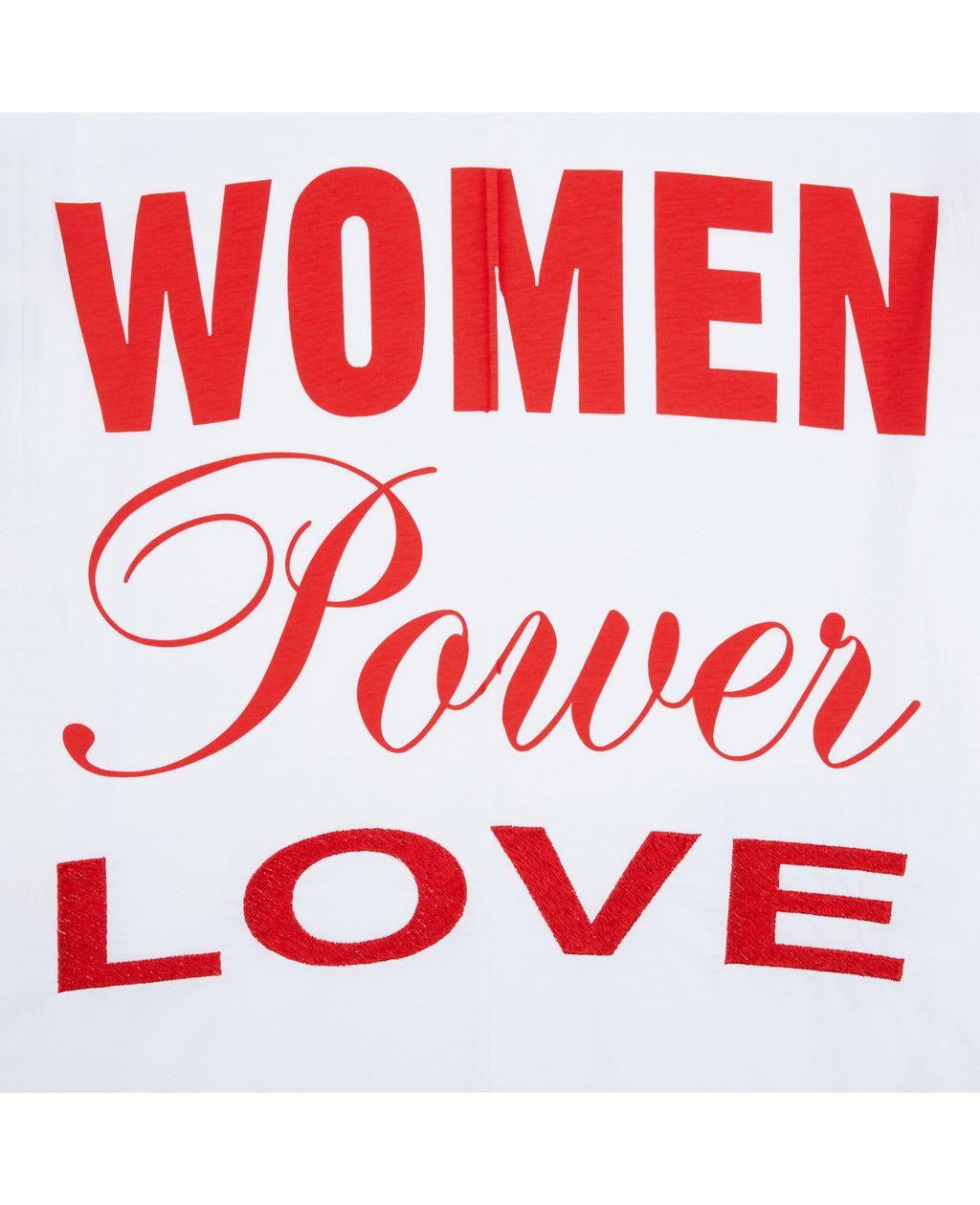 T-shirt powered by women  - STELLA MCCARTNEY