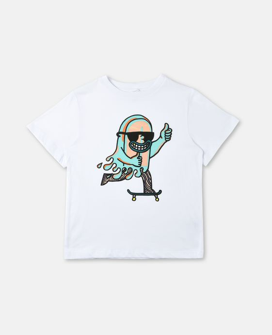 T-Shirt Arrow con Stampa Skate