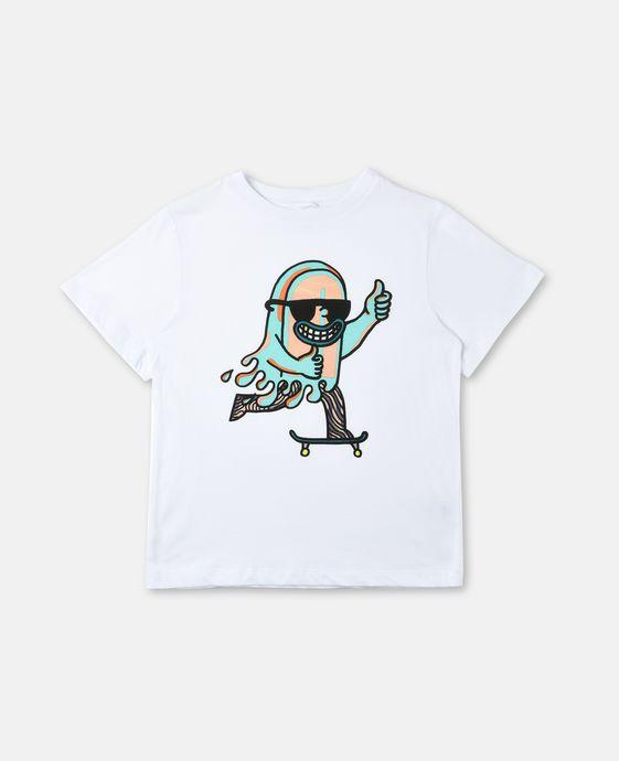 T-shirt Arrow avec imprimé skate